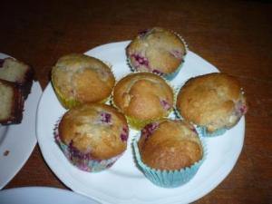 Muffins. No idea what they tasted like - I had another brownie instead!