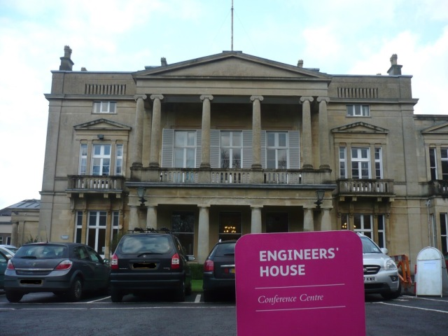 Engineers House.  Does great bacon rolls - if you're on the HRM course that is!