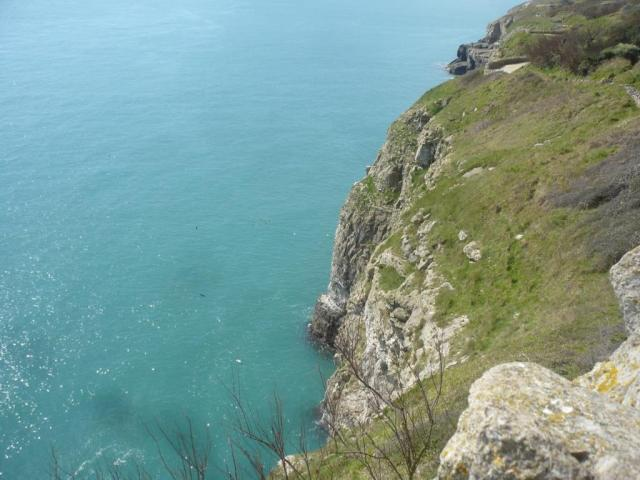 View from the Durlston lookout. No, that is not the Med!