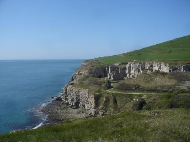 Winspit - pretty impressive quarry site.