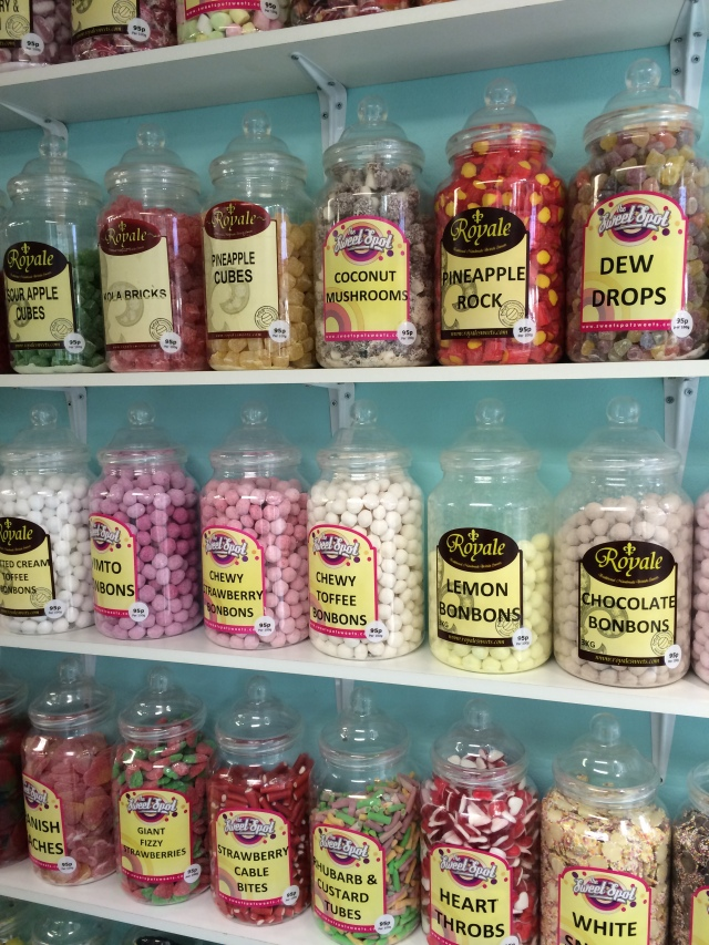 A mere hint of the sweet selection on offer.