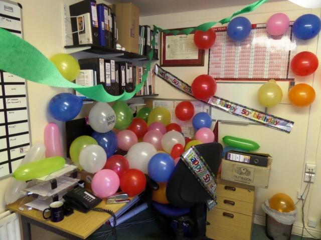 Has anyone seen my desk?