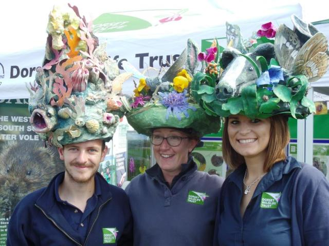 The habitat hats stood out in the crowds. Good work by Tom, Emily and Jess doing their thing.