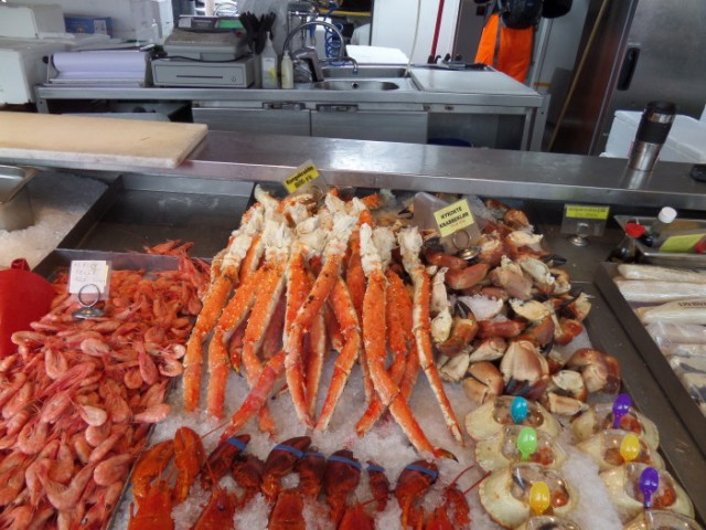 Crab leg anyone?
