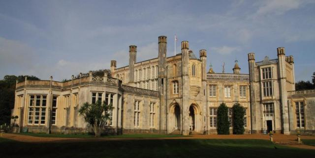 Highcliffe Castle. Not  just any old wedding venue!