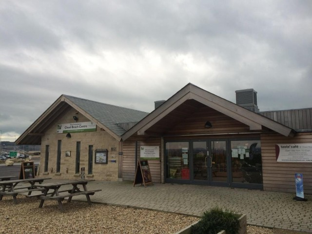 My base for the day - the chesil beach  visitor centre at Ferrybridge